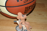 Dragon Elf playing wheelchair basketball